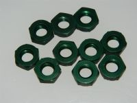 "10 x 5/16"" BSF Nuts Aluminium Thickness 3/16"" Part DHS983G [N8]"